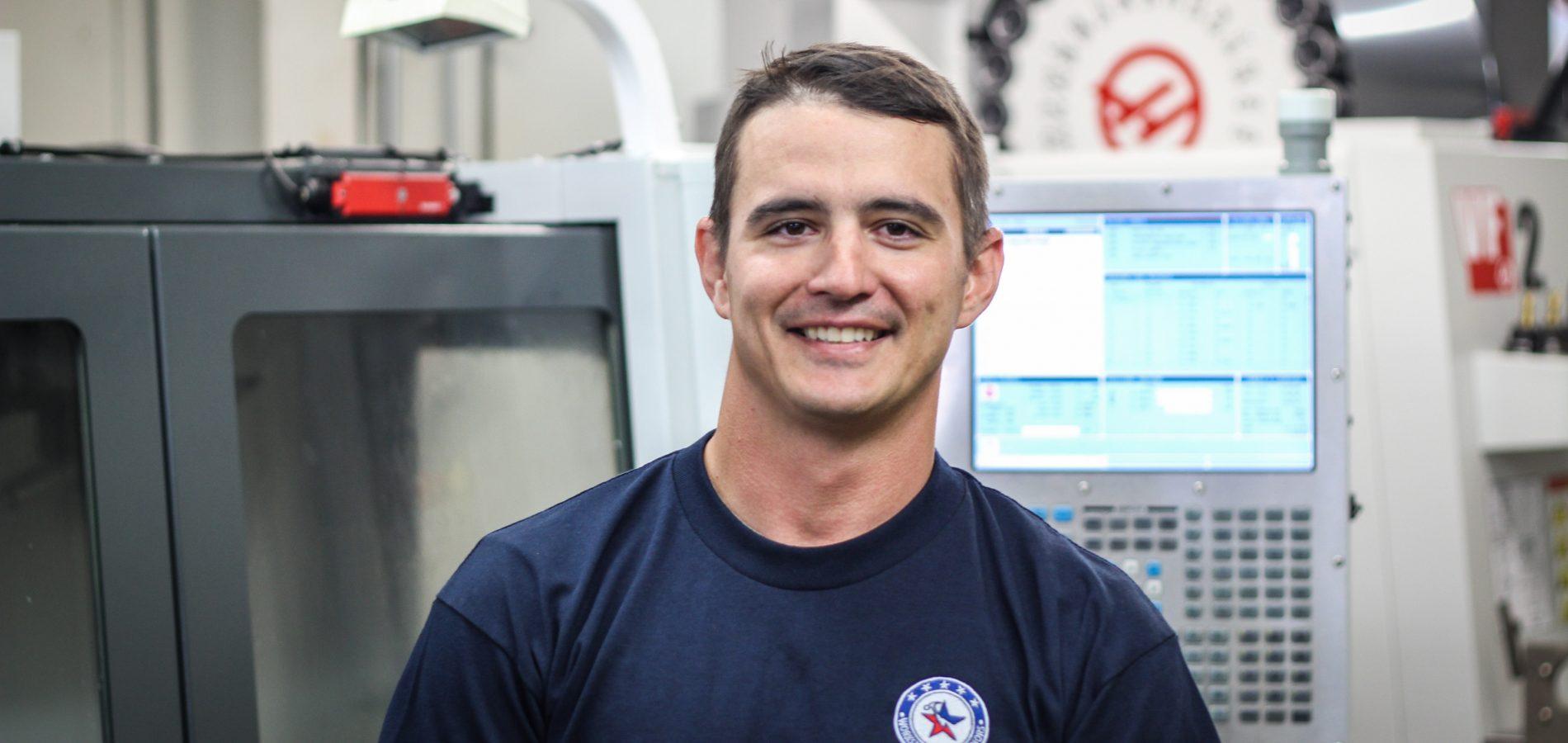 Josh, Navy Veteran, Machining Graduate