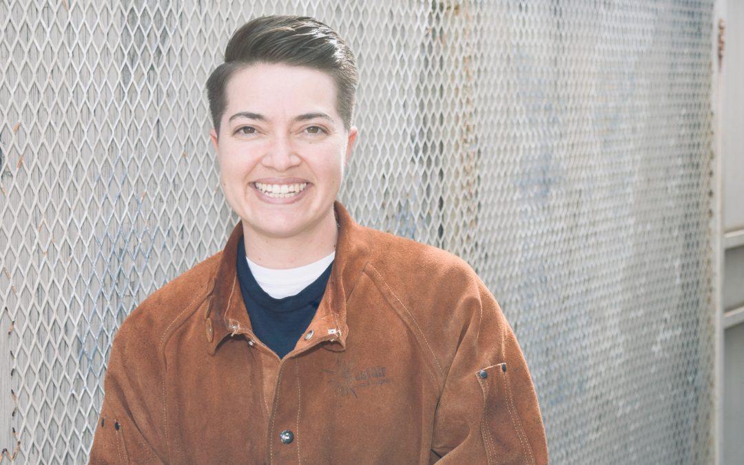 Claudia, Navy Veteran, Welding Graduate