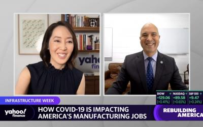 Yahoo! Finance: Veterans 'hitting the ground running' in U.S. manufacturing