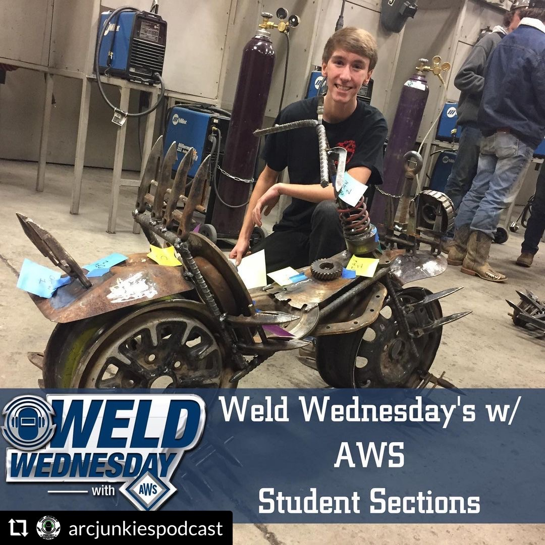 Arc Junkies Weld Wednesday Podcast Cover