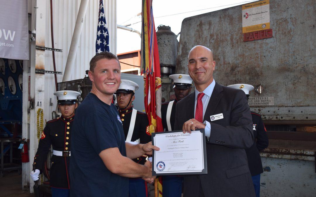 Alex, Marine Corps Veteran, Welding and Machining Graduate