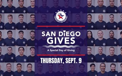 Workshops for Warriors Joins First Annual San Diego Gives