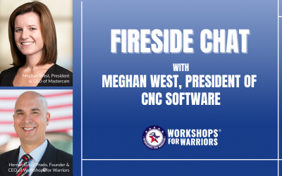 Fireside Chat with Meghan West, President of CNC Software